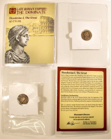 Theodosius I the Great. AD 379-395 - Late Roman Empire: The Dominate Ancient Bronze Coin at PristineAuction.com