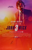"""Keanu Reeves Signed """"John Wick: Chapter 3 – Parabellum"""" 27x40 Poster (PSA Hologram) at PristineAuction.com"""