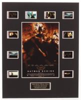 """Batman Begins"" LE 8x10 Custom Matted Original Film / Movie Cell Display at PristineAuction.com"