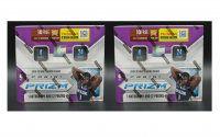Lot of (2) 2019-20 Panini Prizm Basketball Retail Boxes of (24) Packs at PristineAuction.com