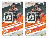 Lot of (2) 2019-20 Donruss Optic Basketball Retail Boxes of (20) Packs at PristineAuction.com