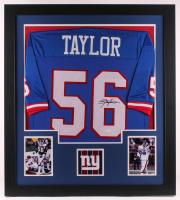 Lawrence Taylor Signed 31x35 Custom Framed Jersey (JSA Hologram) at PristineAuction.com