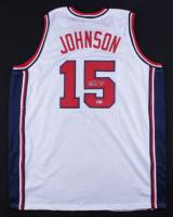 Magic Johnson Signed Jersey (Beckett COA) at PristineAuction.com