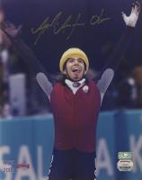 Apolo Ohno Signed 8x10 Photo (Palm Beach COA & Mounted Memories COA) at PristineAuction.com
