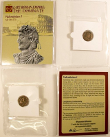 Valentinian I. AD 364-375 - Late Roman Empire: The Dominate Ancient Bronze Coin at PristineAuction.com