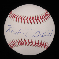 Kirsten Gillibrand Signed OML Baseball (PSA Hologram) at PristineAuction.com
