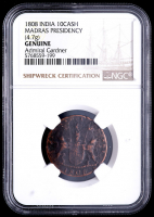 1808 Authentic Shipwreck Coin of the Admiral Gardner (NGC Encapsulated) at PristineAuction.com