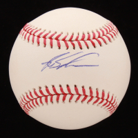 Kyle Schwarber Signed OML Baseball (Palm Beach COA & JSA COA) at PristineAuction.com