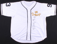 """The Sandlot"" Jersey Cast-Signed by (6) with Tom Guiry, Chauncey Leopardi, Marty York, Victor Di Mattia with Multiple Inscriptions (JSA COA) at PristineAuction.com"
