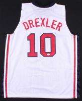 Clyde Drexler Signed Jersey (JSA COA) at PristineAuction.com