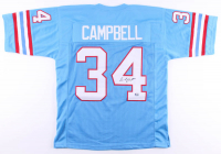 Earl Campbell Signed Jersey (Fiterman Sports Hologram) at PristineAuction.com