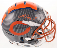 Lance Briggs Signed Bears Full-Size Authentic On-Field Hydro Dipped F7 Helmet (Beckett COA) at PristineAuction.com