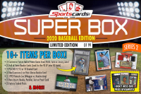 "Sportscards.com ""SUPER BOX"" 10+ Hits Per Box! Baseball Edition Mystery Box -Series 2 at PristineAuction.com"