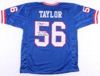"Lawrence Taylor Signed Jersey Inscribed ""I'm A Bad Motherf****r"" (JSA COA) at PristineAuction.com"