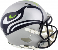 """Bobby Wagner Signed Seahawks Full-Size Authentic On-Field AMP Alternate Speed Helmet Inscribed """"SB XLVIII Champs"""" (Radtke COA) at PristineAuction.com"""