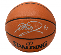 Dirk Nowitzki Signed NBA Game Ball Series Basketball (Fanatics Hologram) at PristineAuction.com