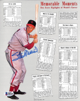 """Stan Musial Signed Cardinals """"Memorable Moments"""" 8x10 Photo (Beckett COA) at PristineAuction.com"""