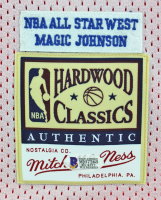 Magic Johnson Signed NBA All-Star Reversible Jersey (Beckett COA) at PristineAuction.com