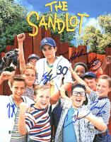 """The Sandlot"" 11x14 Photo Cast-Signed by (6) with Tom Guiry, Marty York, Shane Obedzinski, Victor DiMattia, Chauncey Leopard & Brandon Adams (Beckett COA) at PristineAuction.com"