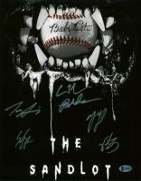 """The Sandlot"" 11x14 Photo Cast-Signed by (6) with Tom Guiry, Marty York, Shane Obedzinski, Victor DiMattia, Chauncey Leopard, Brandon Adams (Beckett COA) at PristineAuction.com"