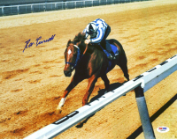 Ron Turcotte Signed 1973 Secretariat Triple Crown 11x14 Photo (PSA COA) at PristineAuction.com