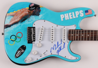 "Michael Phelps Signed 39"" Electric Guitar (JSA COA) at PristineAuction.com"