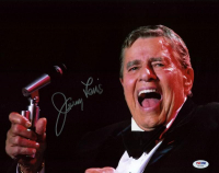 Jerry Lewis Signed 11x14 Photo (PSA COA) at PristineAuction.com
