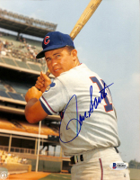 Ron Santo Signed Cubs 8x10 Photo (Beckett COA) at PristineAuction.com