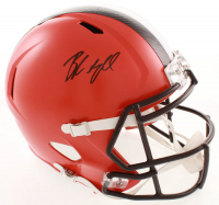 Baker Mayfield Signed Browns Full-Size Speed Helmet (JSA COA) at PristineAuction.com