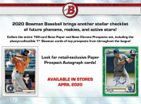 2020 Bowman Baseball Case of (12) Retail Boxes at PristineAuction.com