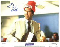 """Chevy Chase Signed """"National Lampoon's Vacation"""" 11x14 Lobby Card (Beckett COA) at PristineAuction.com"""