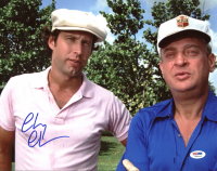 """Chevy Chase Signed """"Caddyshack"""" 11x14 Photo (PSA COA) at PristineAuction.com"""