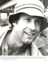 """Chevy Chase Signed """"Caddyshack"""" 11x14 Lobby Card (Beckett COA) at PristineAuction.com"""