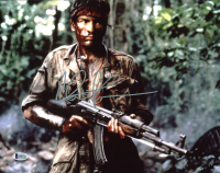 """Charlie Sheen Signed """"Platoon"""" 11x14 Photo (Beckett COA) at PristineAuction.com"""