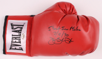 "James ""Buster"" Douglas Signed Everlast Boxing Glove Inscribed ""I Beat Iron Mike"" & ""2/11/90"" (Schwartz COA) at PristineAuction.com"