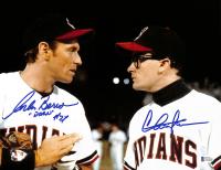 "Charlie Sheen & Corbin Bernsen Signed ""Major League"" 11x14 Photo Inscribed ""Dorn"" (Beckett COA) at PristineAuction.com"