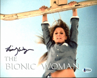 "Lindsay Wagner Signed ""The Bionic Woman"" 8x10 Photo (Beckett COA) at PristineAuction.com"