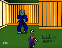 """Ari Lehman Signed """"Friday the 13th: NES Game"""" 11x14 Photo Inscribed """"Jason 1"""" (Beckett COA) at PristineAuction.com"""