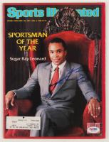 Sugar Ray Leonard Signed Sports Illustrated Magazine (PSA COA) at PristineAuction.com