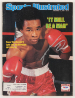 Sugar Ray Leonard Signed 1980 Sports Illustrated Magazine (PSA COA) at PristineAuction.com