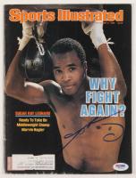 Sugar Ray Leonard Signed 1986 Sports Illustrated Magazine (PSA COA) at PristineAuction.com