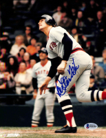 Carlton Fisk Signed Red Sox 8x10 Photo (Beckett COA) at PristineAuction.com