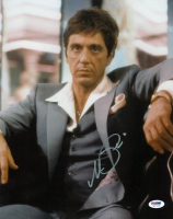 "Al Pacino Signed ""Scarface"" 11x14 Photo (PSA COA) at PristineAuction.com"