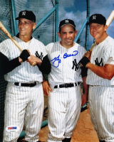 Yogi Berra Signed Yankees 8x10 Photo (PSA COA) at PristineAuction.com