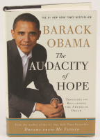 "Barack Obama Signed ""The Audacity of Hope: Thoughts on Reclaiming the American Dream"" Hard Cover Book (Beckett LOA) at PristineAuction.com"