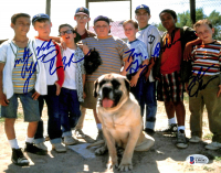 """""""The Sandlot"""" 8x10 Photo Cast-Signed by (6) with Marty York, Shane Obedzinski, Victor DiMattia, Tom Guiry (Beckett COA) at PristineAuction.com"""