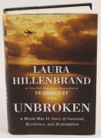 """Louis Zamperini Signed """"Unbroken: A World War II Story of Survival, Resilience, and Redemption"""" Hard Cover Book Inscribed """"To The Soldiers"""" & """"Be Hardy"""" (Beckett COA) at PristineAuction.com"""