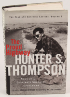 "Hunter S. Thompson Signed ""The Proud Highway: Saga of a Desperate Southern Gentleman"" Hard Cover Book (Beckett LOA) at PristineAuction.com"