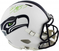 Bobby Wagner Signed Seahawks Full-Size Authentic On-Field Matte White Speed Helmet (Radtke COA) at PristineAuction.com