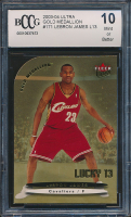 LeBron James 2003-04 Ultra Gold Medallion #171 L13 (BCCG 10) at PristineAuction.com